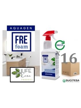 Parfum citric cleaner AQUAGEN FRE FOAM 750mlx16units