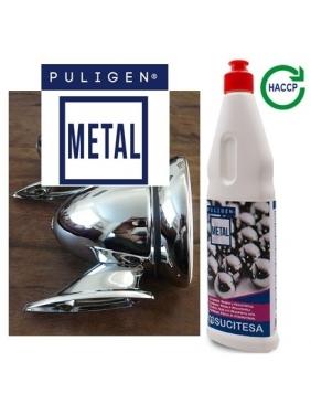 Metal and vitroceramic hobs cleaner PULIGEN METAL 500ml