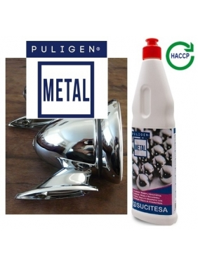 Metalo ir stiklo keramikos poliruoklis PULIGEN METAL 500ml