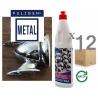 Metal and vitroceramic hobs cleaner PULIGEN METAL 500mlx12units
