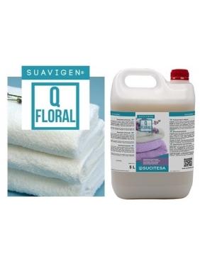 Gėlių kvapo audinių minkštiklis SUAVIGEN Q FLORAL 5L