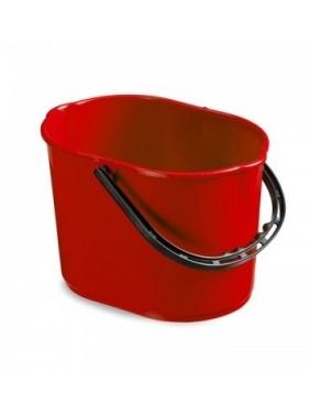 Bucket PLUTO 12L, red