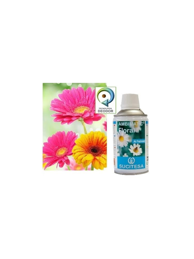 Gėlių kvapo oro gaiviklis AMBIMATIC FLORAL (12vnt.)