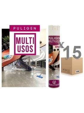 Dulkių valiklis - antistatinis PULIGEN MULTIUSOS SP 500mlx15vnt.