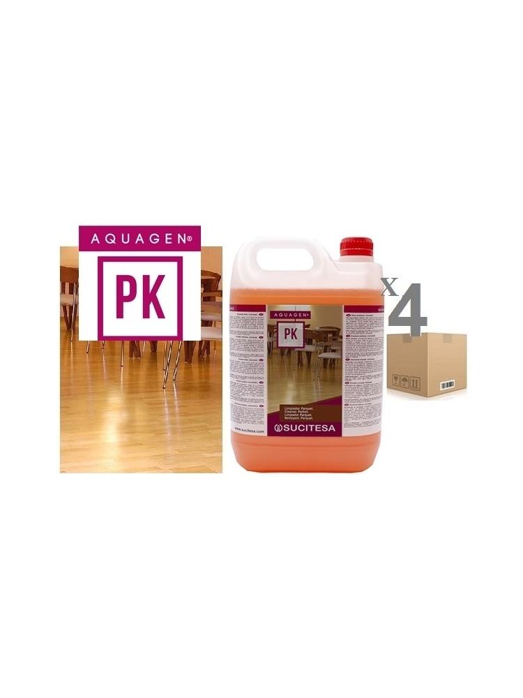 Medinių grindų valiklis AQUAGEN PK 5Kgx4vnt.