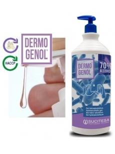 Hydroalcoholic gel DERMOGENOL 1L