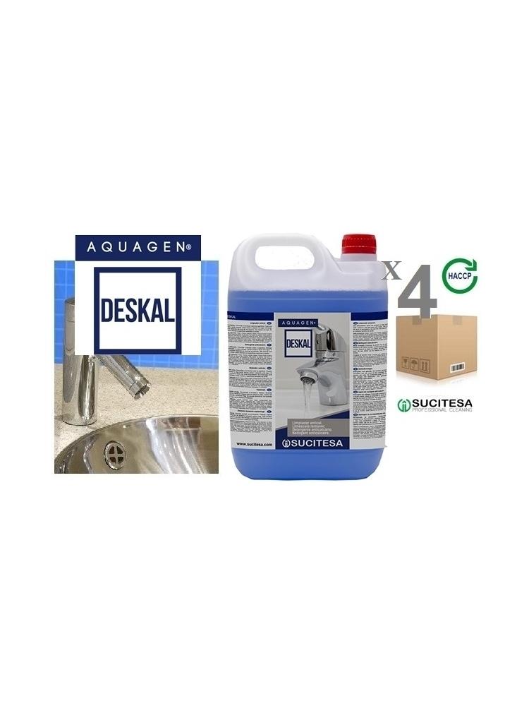 Anti-limescale cleaner AQUAGEN DESKAL 5Kgx4units