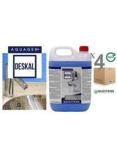 Anti-limescale cleaner AQUAGEN DESKAL 5Lx4units