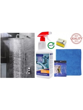 Cleaning set for SHOWER BOOTHS AND CRANES