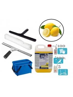 Window cleaning tools set TWIN LEMON