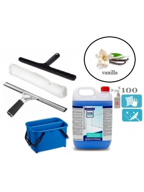 Window cleaning tools set TWIN APPLE