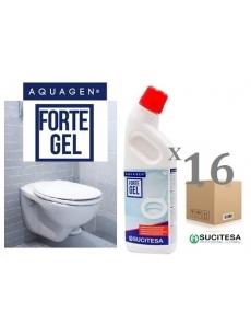 Gel cleaner and descaler for WC AQUAGEN FORTE GEL (16units)