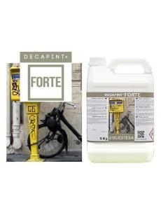 Stiprus gelis graffiti, gumos, silikono, klijų valymui DECAPINT FORTE