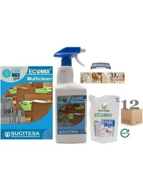 Multi-purpose & window cleaner ECOMIX MULTICLEAN 12MINI