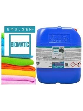 Aukštos kokybės skalbimo skystis su enzimais EMULGEN BIOMATIC