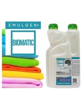 Skalbimo skystis su enzimais EMULGEN BIOMATIC 1L