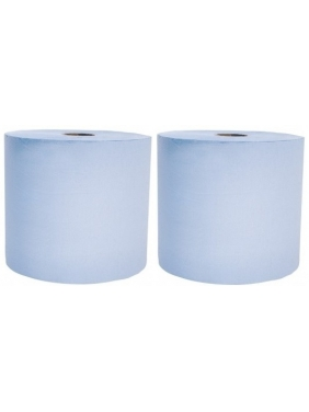 Industrial paper roll MEGA STRONG BLUE (2roll)