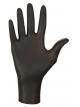 Vienkartinės nitrilo pirštinės MERCATOR NITRYLEX BLACK, M dydis, 100vnt.
