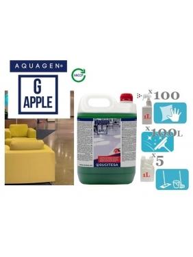 Obuolių kvapo valiklis su bio-alkoholiu AQUAGEN G APPLE (koncentratas)