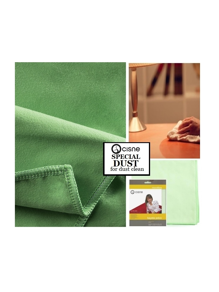 Microfiber cloth for dust cleaning SPECIAL DUST, 38x40cm