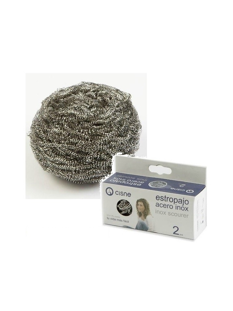 Stainless steel scouring pad SMALL 2x20g