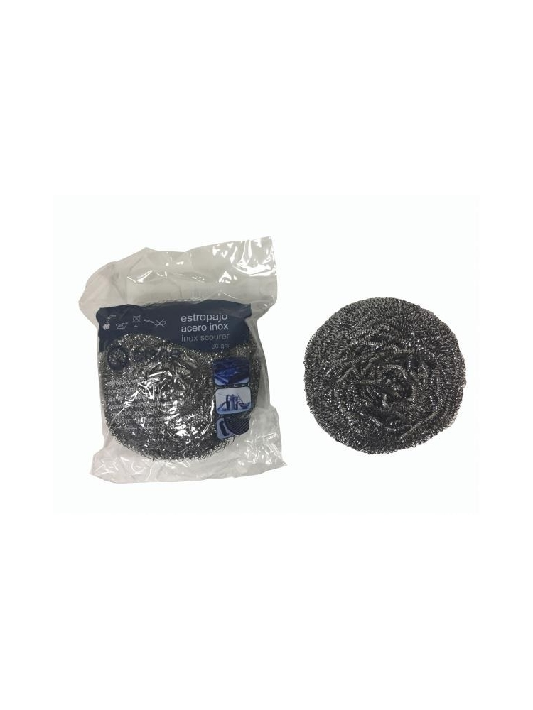 Stainless steel scouring pad LARGE 60g