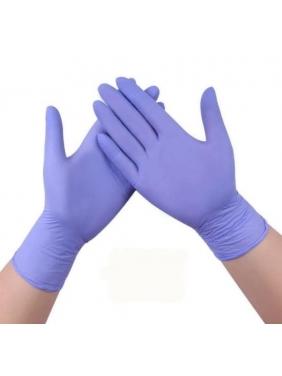 Nitrilinės vienkartinės pirštinės, violetinės (100vnt.)