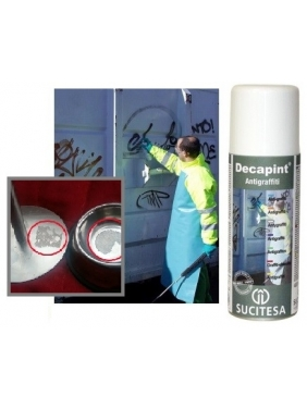 Anti-graffiti, gum, glue and silicone remover DECAPINT SP520