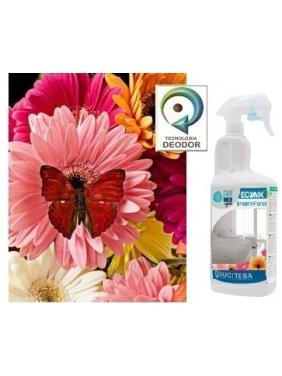 Gėlių kvapo gaiviklis orui ir tekstilei ECOMIX BREATH FLORAL 750ml