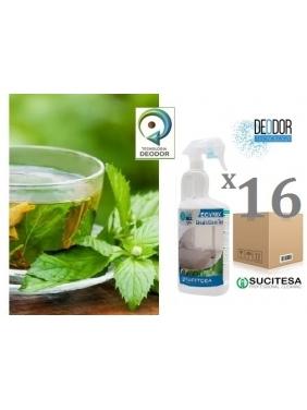 Gaiviklis-dezodorantas viešbučiams ECOMIX BREATH GREEN TEA 750mlx16vnt.