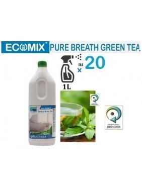 Žalios arbatos kvapo gaiviklis ECOMIX BREATH GREEN TEA (10-20vnt.x1L)