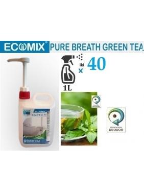 Žalios arbatos kvapo neutralizuojantis gaiviklis ECOMIX BREATH GREEN TEA, 2L