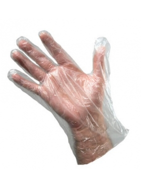 HDPE disposable gloves, 100units (bags)