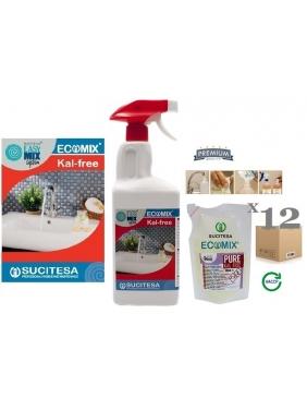 Kalkių valiklis (higieniškas) ECOMIX KAL-FREE 12MINI
