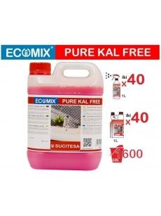 Higieniškas kalkių valiklis ECOMIX KAL-FREE (20-40vnt. x1L)