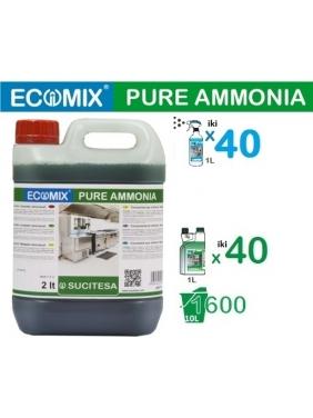 Valiklis su amoniaku ECOMIX AMMONIA (20-40vnt.x1L)