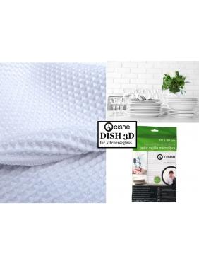 Microfiber cloth for draining dishes DISH CLOTH 3D,50x50cm