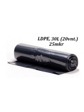 Šiukšlių maišai LDPE 30L (20vnt.)