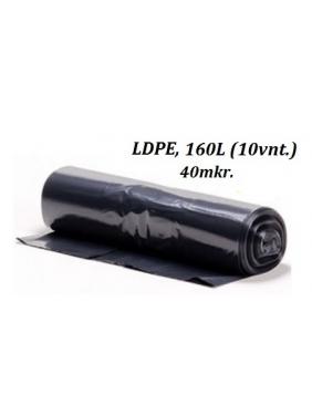 Šiukšlių maišai LDPE 160L (10vnt.)