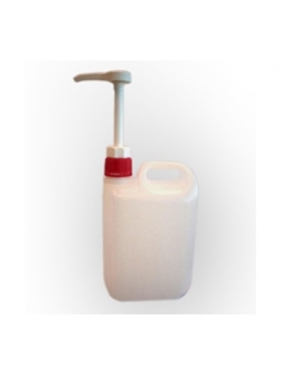 Plastiko bakelis su pompyte DOSIFICADOR, 2 L