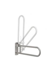 Vertical swing grab bar