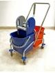 Dviejų talpų valymo vežimėlis CARRO CROMADO, 2x25L